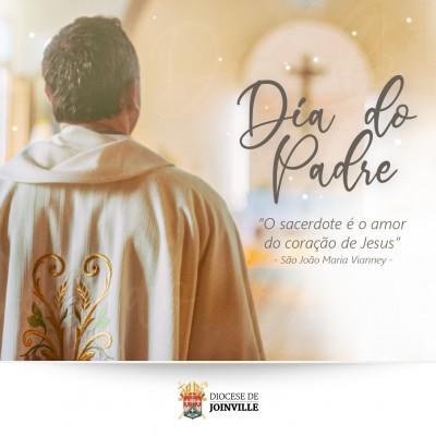 Diocesanos prestam homenagens pelo Dia do Padre