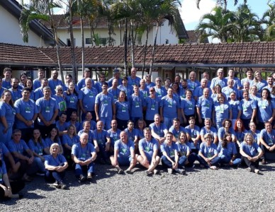 Dioceses do Regional Sul 4 participam de assembleia do Movimento de Cursilho de Cristandade, em Joinville