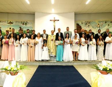 Mafra: paróquia Nossa Senhora das Graças realiza Casamento comunitário