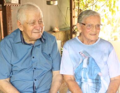 Casal de Joinville completa 70 anos de matrimônio