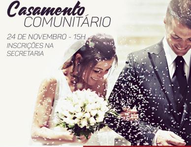 Santuário Sagrado Coração de Jesus promove casamento comunitário