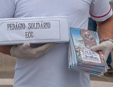 ECC de Massaranduba realiza pedágio solidário