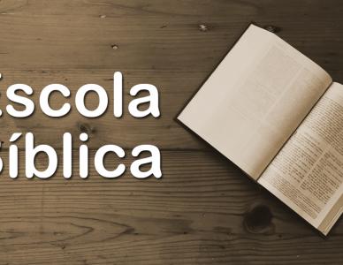 Escola Bíblica - Participe!