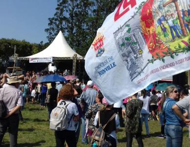 Diocese de Joinville participa da 24º Romaria da Terra e das Águas