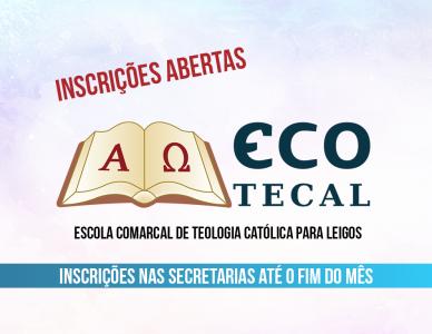 Inscrições abertas para a Ecotecal