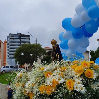 Itaiópolis faz carreata no dia de Nossa Senhora Aparecida