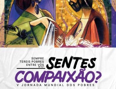 Jornada Mundial dos Pobres no Brasil é lançada