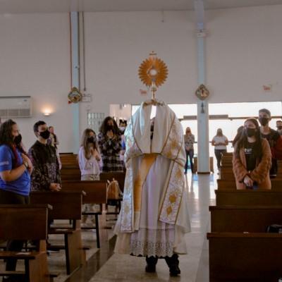 Juventude da Imaculada Conceição realiza o 1º Cenáculo Jovem