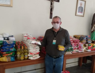 Maratona da Solidariedade arrecada mais de 10 toneladas de alimentos em menos de 15 dias