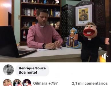 Meio milhão de visualizações nas transmissões da paróquia Nossa Senhora Aparecida, em São Bento do Sul