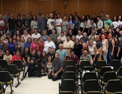 Membros da Pascom refletem a importância da espiritualidade para a comunicação