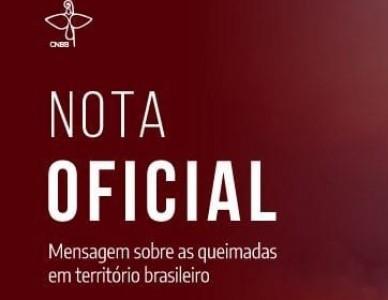 Mensagem da CNBB sobre as queimadas no território brasileiro