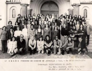 Movimento Emaús completa 46 anos na Diocese de Joinville