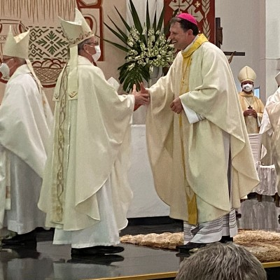 Monsenhor Cleocir Bonetti é ordenado bispo da Diocese de Caçador