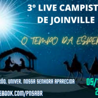 Movimento dos Campistas realiza live de preparação para o Natal