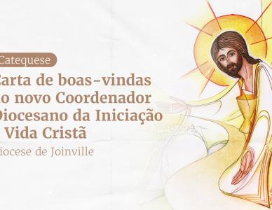 Novo coordenador da catequese envia carta de boas-vindas aos catequistas