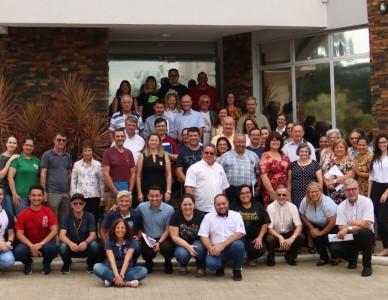 Novo site da Diocese de Joinville é lançado durante reunião do Conselho Diocesano de Pastoral