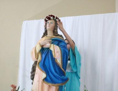Paróquia de Itapoá encerra maio com celebração Mariana