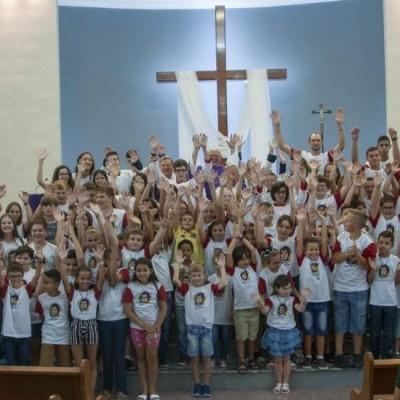Paróquia Sagrado Coração de Jesus de Massaranduba realiza Missa Vocacional