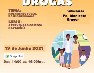 Pastoral da Sobriedade promove Semana  Nacional de Prevenção às Drogas