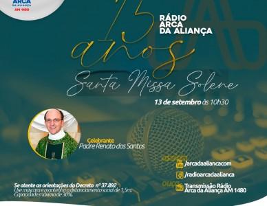 Rádio Arca da Aliança: 15 anos de evangelização e unidade nas ondas do rádio joinvilense