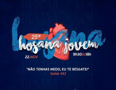 RCC realiza a 25ª edição do Hosana Jovem