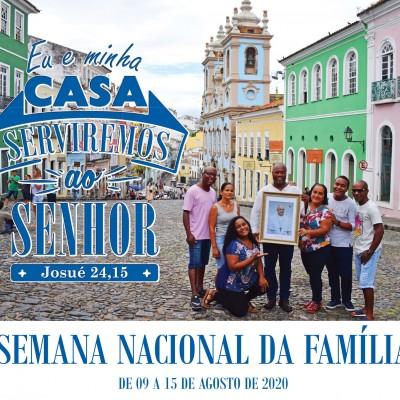 Semana Nacional da Família começa no próximo domingo (9)