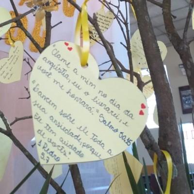Setembro Amarelo: Árvore da Esperança na Paróquia São João Batista