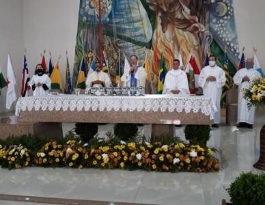 Solenidade da padroeira no Santuário Nossa Senhora Aparecida, em Mafra