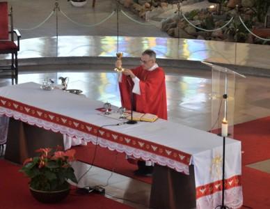 Veja como foi o Pentecostes na Diocese de Joinville